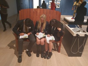 Smma st mary magdalene academy islington year 10 gcse art students at a wellcome collection study day