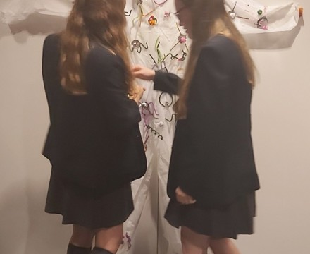 Smma st mary magdalene academy islington gcse art students working on their own creations at a wellcome collection study day
