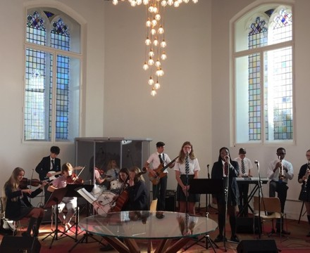 St mary magdalene academy islington start of year services with 14 music students performing a wide repertoire