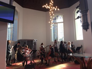 St mary magdalene academy islington start of year services with advanced band and string quartet students performing