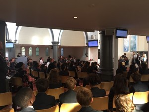 St mary magdalene academy islington students attend start of year church services