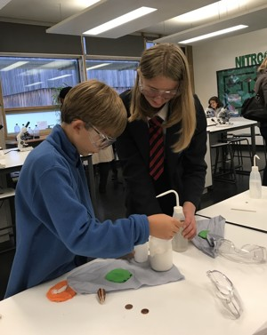 St mary magdalene academy islington secondary school london science demonstrations at open evening admissions 2019