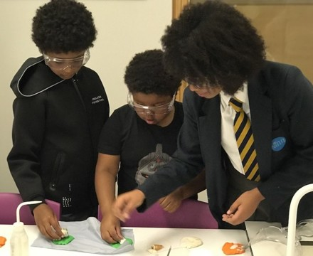 St mary magdalene academy islington secondary school london visitors get involved in science demonstrations at open evening admissions 2019