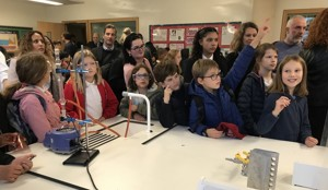 St mary magdalene academy islington secondary school london visitors get involved in science demonstrations at our busiest ever open evening for admissions 2019jpg
