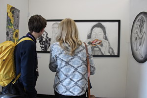 Sixth form islington a level art private view at st mary magdalene academy islington