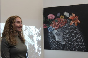 St mary magdalene academy sixth form islington a level art private view portrait