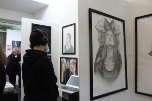 St mary magdalene academy islington a level exhibition art private view