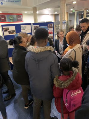 Sixth form open evening st mary magdalene academy islington london students and families ask about how to apply to sixth form and investigate a level courses and subjects