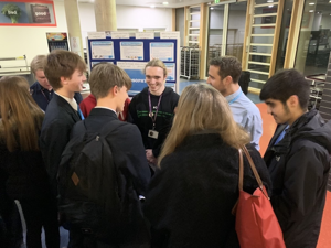 Sixth form open evening st mary magdalene academy islington london students discuss a level courses and subjects