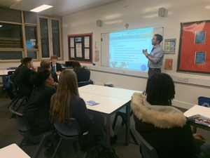 Sixth form open evening st mary magdalene academy islington london students learn about a level courses