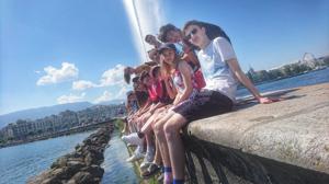 St mary magdalene academy smma sixth form islington london students visit lake geneva switzerland july 2019