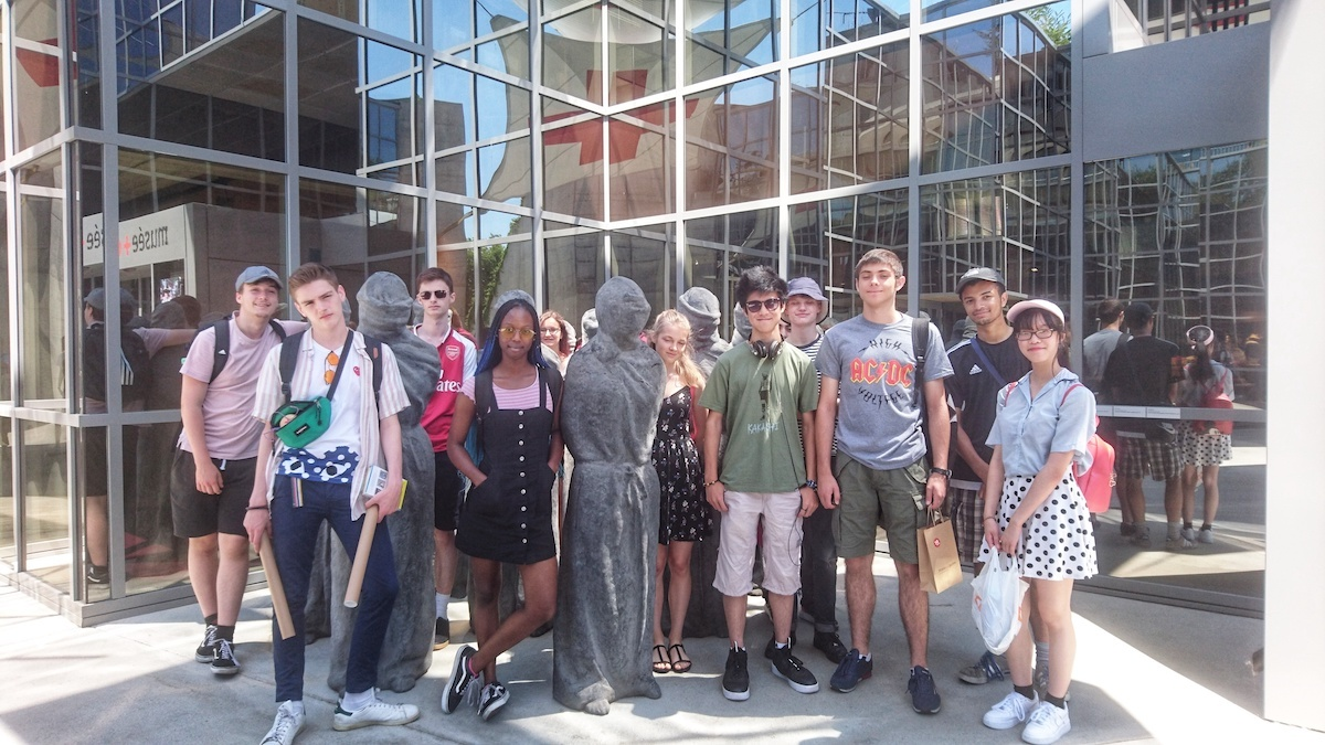 Sixth Form students from St Mary Magdalene academy smma islington london students visit geneva switzerland july 2019