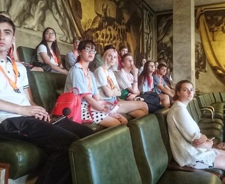 St mary magdalene academy sixth form islington london students visit geneva july 2019