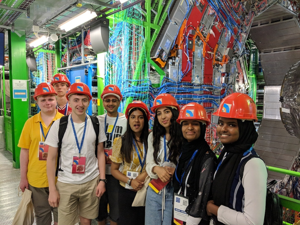 Sixth form students from st mary magdalene academy sixth form islington london students visit cern in geneva switzerland july 2019